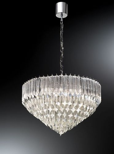 Franklite FL2266/6 Chrome Pendant Light